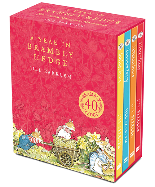 brambly hedge books a year in brambly hedge boxed set 2020 edition