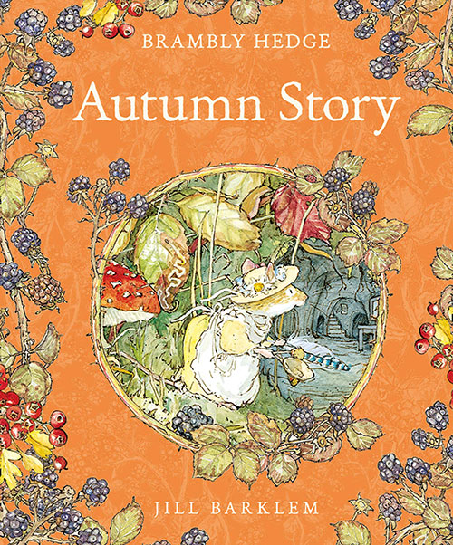 brambly hedge books for children autumn story 2020 edition