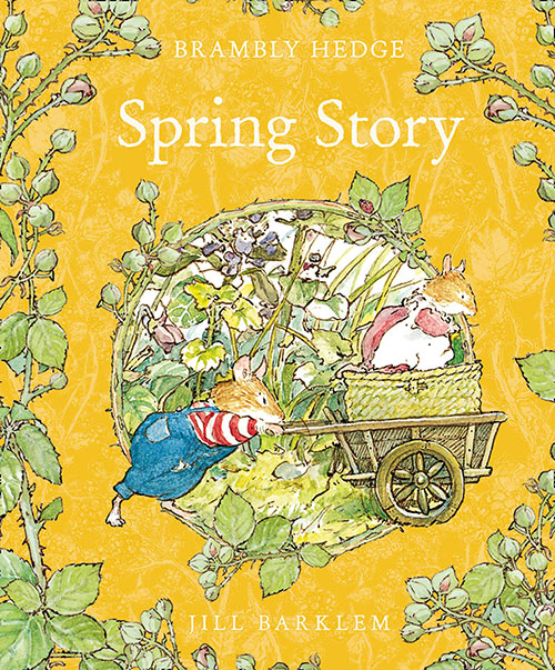 brambly hedge books for children spring story 2020 edition